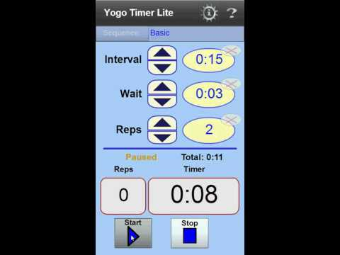 Video of YogoTimer Lite