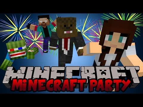 MARIO PARTY in Minecraft w/ Bashur, NoahCraftFTW and AshleyMarieeGaming!
