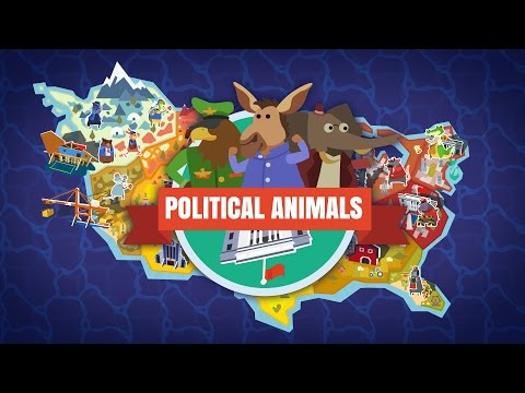 Hawk For President!- Part 1 - Let's Play Political Animals Gameplay