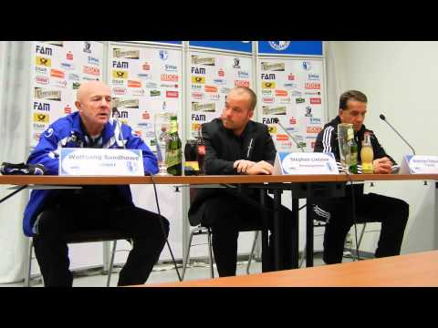 Video: Pressekonferenz - 1. FC Magdeburg - Germania Halberstadt 1:1 (0:1)