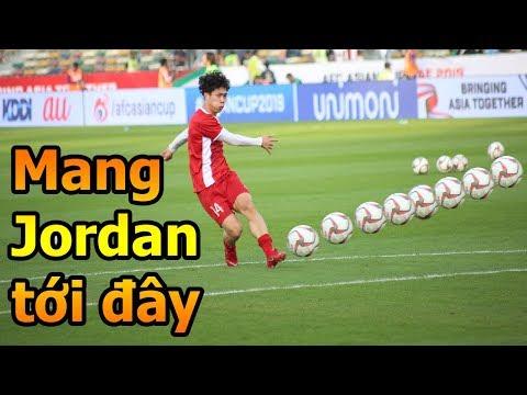 Thử Thách Bóng Đá Asian Cup 2019 đi xem Công Phượng Đặng Văn Lâm Bùi Tiến Dũng ĐT Việt Nam Jordan - Thời lượng: 10 phút.