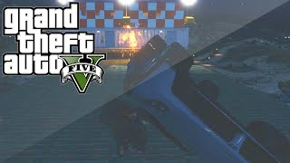 STUNTERS VS GRENADES! (GTA 5 Funny Moments)