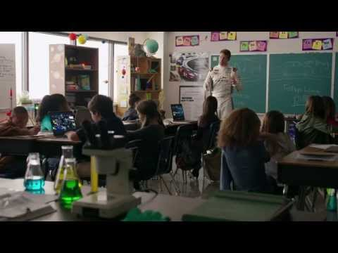 "NASCAR spot aims to ""steer"" students into greater proficiency in STEM subjects video"