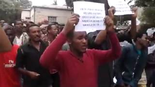 Addis Ababa University #Oromo Students peaceful protest   May 1, 2014