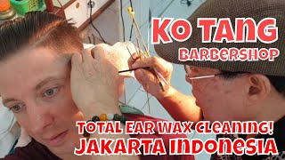 Video Haircut, Shave & Total Ear Wax Cleaning for $7 | Ko Tang Barbershop Jakarta Indonesia MP3, 3GP, MP4, WEBM, AVI, FLV Agustus 2019