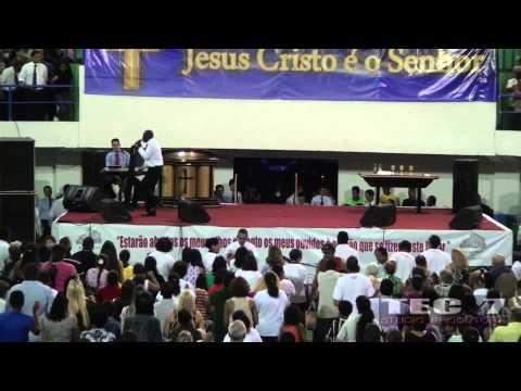 Cantor GIBI na Cruzada dos Milagres em COTIA, com Bispo Jadson
