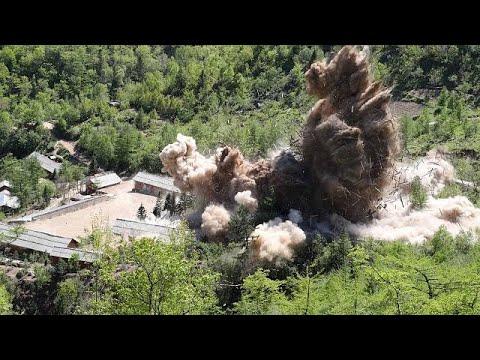 Βίντεο από την καταστροφή του πεδίου δοκιμών