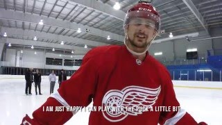 In episode 6, Tomas Tatar shows off his impressive shootout skills and unbelievably fast hands.