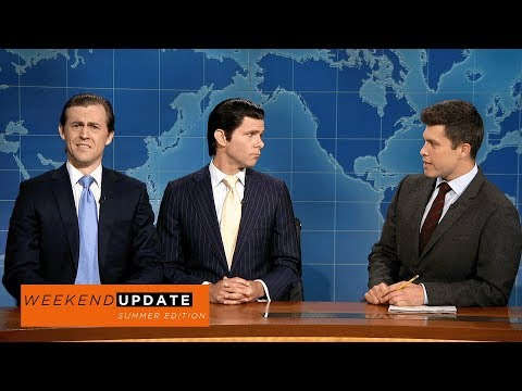 Weekend Update: Eric and Donald Trump Jr. on Their Summer So Far - SNL