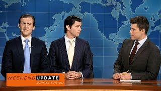 Eric (Alex Moffatt) and Donald Trump Jr. (Mikey Day) discuss their summer highlights, including meeting with the Russians and a new Trump Hotel.Get more SNL: http://www.nbc.com/saturday-night-liveFull Episodes: http://www.nbc.com/saturday-night-liv...Like SNL: https://www.facebook.com/snlFollow SNL: https://twitter.com/nbcsnlSNL Tumblr: http://nbcsnl.tumblr.com/SNL Instagram: http://instagram.com/nbcsnl SNL Pinterest: http://www.pinterest.com/nbcsnl/