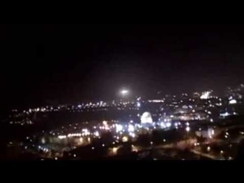 ufo over jerusalem dome of the rock israel