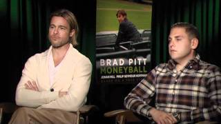 Nonton Brad Pitt   Jonah Hill   Moneyball Interview At Tiff 2011 Film Subtitle Indonesia Streaming Movie Download
