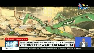 Video Victory for Wangari Maathai following destruction of Ukay Centre MP3, 3GP, MP4, WEBM, AVI, FLV Agustus 2018