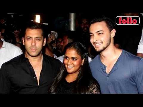 Salman Khan To Launch Aayush Sharma?