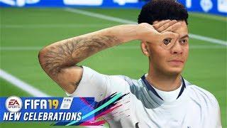 FIFA 19 ALL NEW CELEBRATIONS TUTORIAL | XBOX & PLAYSTATION