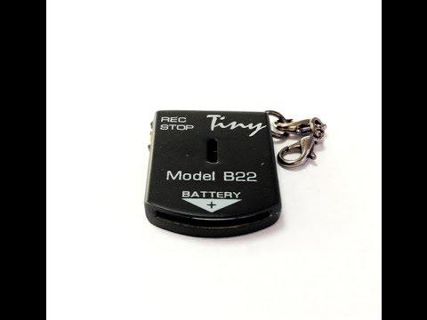 Обзор!!! Минидиктофон Edic-mini Tiny B22-300h (видео)