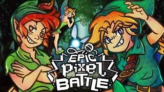 Video Link VS Peter Pan - EPIC PIXEL BATTLE [ EPB SAISON 3 ] MP3, 3GP, MP4, WEBM, AVI, FLV Juli 2017