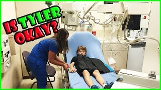 Video TYLER ENDS UP IN THE HOSPITAL!   We Are The Davises MP3, 3GP, MP4, WEBM, AVI, FLV Maret 2018