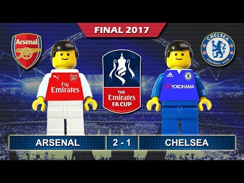 Emirates FA Cup Final 2017 • Arsenal Vs Chelsea • Goal Highlights Lego Football Film