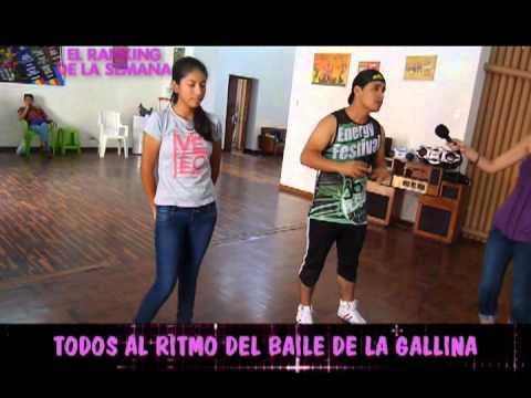 baile de la gallina - Aprende muy rápido como bailar el ritmo de moda de este verano 2013 el baile de la gallina con nuestros amigos de Clarasan y nuestra reportera Silvana Diaz.