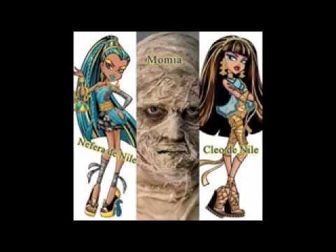 Padres e hijos de monster high Monster High