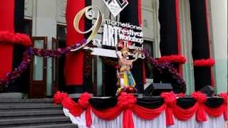 Opening Ceremony Thai Dance - 9th Intl Art Festival Thailand