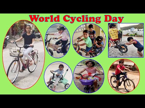 World Cycling Day 2020 Health Benefits of Cycling Story,Vizagvision...