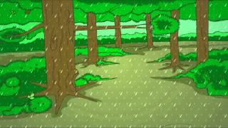Rain on the Grass  - English Nursery Rhymes - English Cartoon Nursery Rhymes