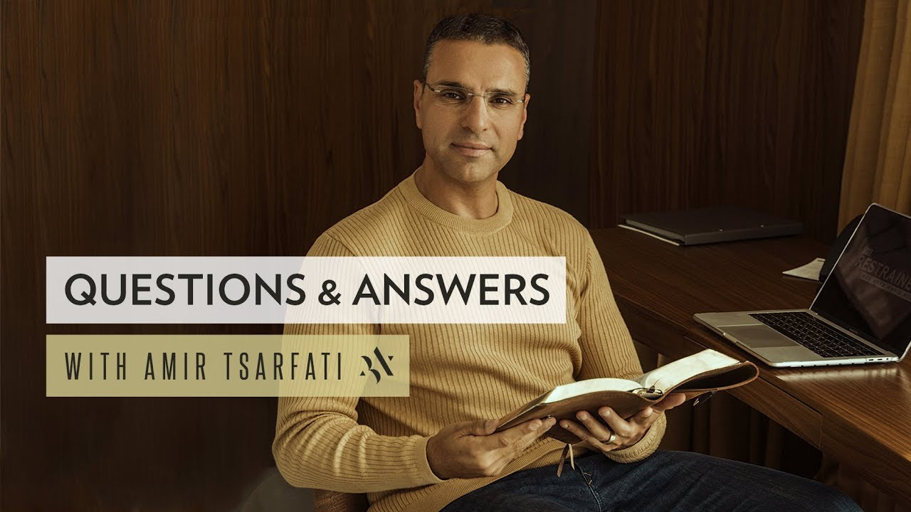 Amir Tsarfati: Live Q & A and Middle East Update