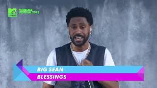 BIG SEAN - Blessing  LIVE @ WIRELESS Festival 2018