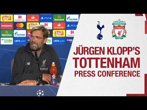 Liverpool's Pre-Champions League Final Press Conference From Madrid | Tottenham