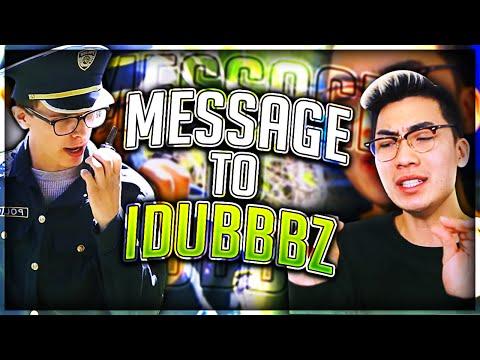 MESSAGE TO IDUBBBZ THE CONTENT COP