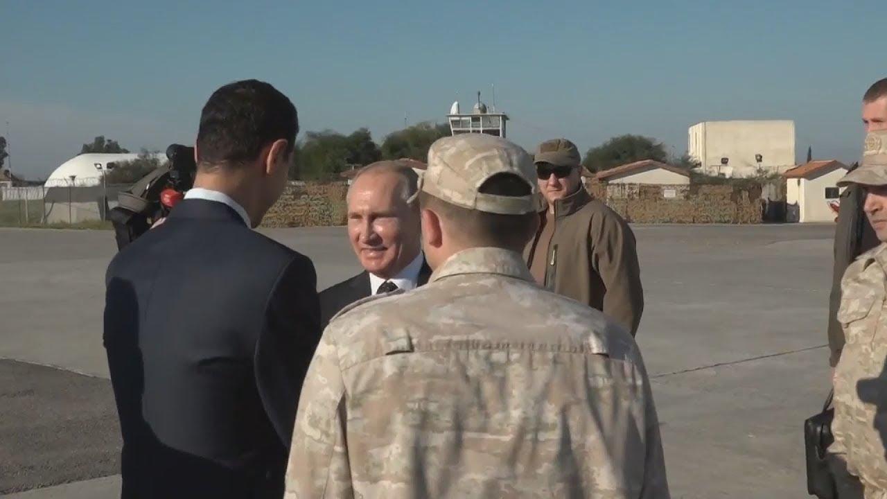 Ο Πούτιν διατάσσει την αποχώρηση του μεγαλύτερου μέρους των ρωσικών δυνάμεων από τη Συρία