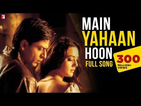 Video Main Yahaan Hoon - Full Song | Veer-Zaara | Shah Rukh Khan | Preity Zinta | Udit Narayan download in MP3, 3GP, MP4, WEBM, AVI, FLV January 2017