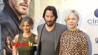"""Generation Um..."" Los Angeles Premiere ARRIVALS Keanu Reeves, Bojana Novakovic, Adelaide Clemens"