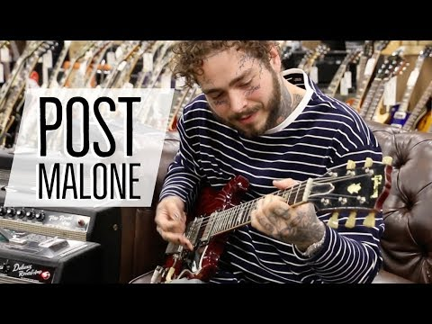 Post Malone at Norman's Rare Guitars | 1964 Gibson SG Standard