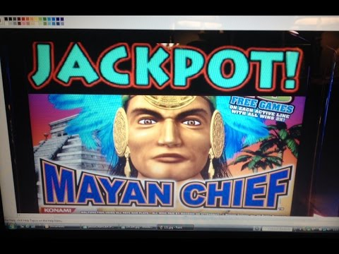 ***JACKPOT*** MAYAN CHIEF slot machine Bonus HANDPAY #5