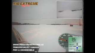 4. RIB Extreme Racing Yamaha Apex 2012 152 hp stock acceleration