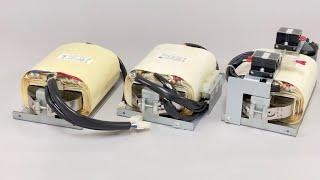 高電圧トランスの真空モールド加工