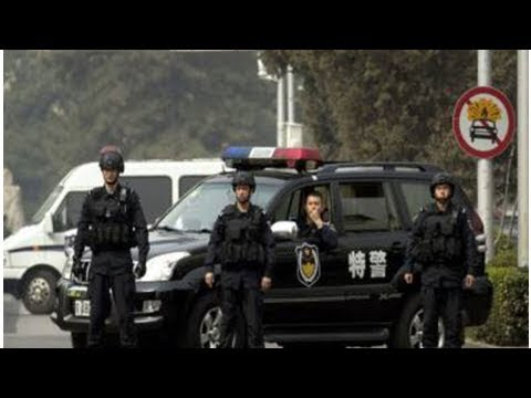 Knifeman Kills Two Police Officers In China