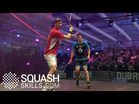 Squash tips: Holding the ball with Jesse Engelbrecht