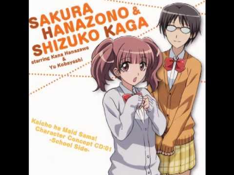 Kaichou wa Maid-sama! character song - Koibana - Sakura Hanazono and Shizuko Kaga (видео)