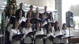 Presentación en matriz de Produbanco 22 de diciembre de 2010. Letra original en español de Goy Paz. Arreglos de Inna Ouzlian...