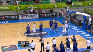 Highlights G. Britain-Israel EuroBasket 2013