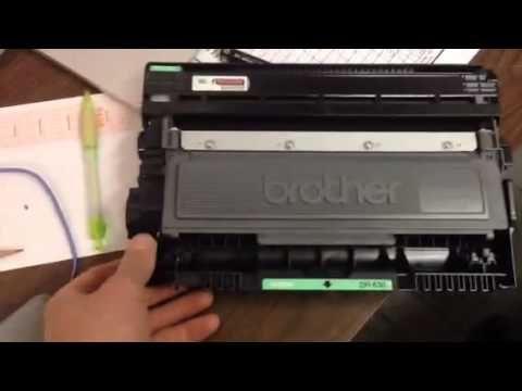 How to change toner in a brother 2700dw mfc printer fax scanner