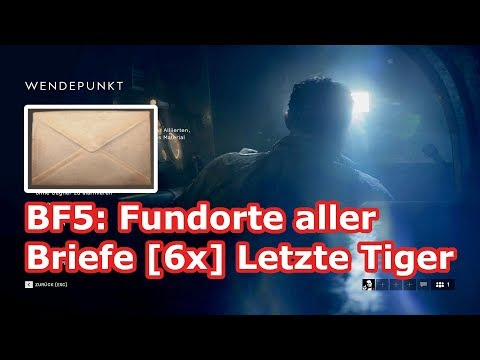 Battlefield 5: alle Briefe [6x]...