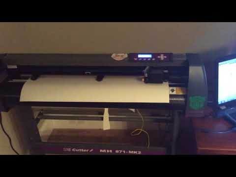 Us cutter mh 871-mk2 vinyl cutter