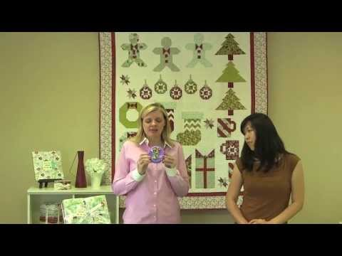 Deck-ade the Halls with Fat Quarter Shop - Three Wise Gingerbread Men