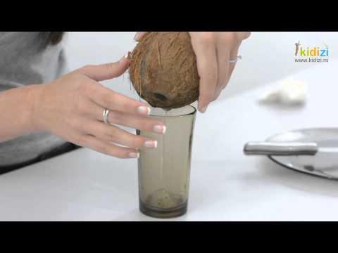 Cum sa desfacem o nuca de cocos
