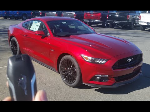Red ford mustang 2016 фотка